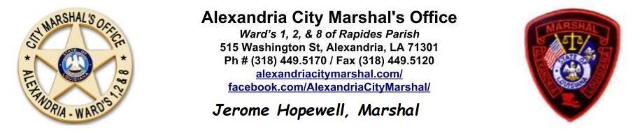 Pay Tickets Online - Alexandria, Louisiana, Alexandria City