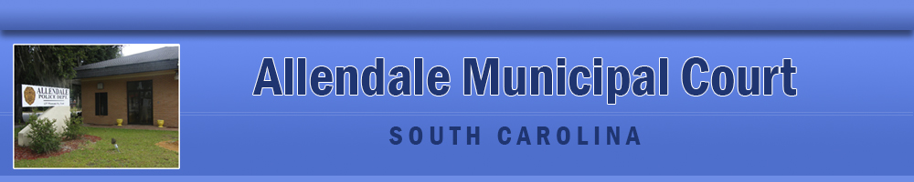 Pay Tickets Online - Allendale, South Carolina, Allendale