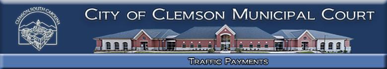 Pay Tickets Online - Clemson, South Carolina, Clemson Municipal
