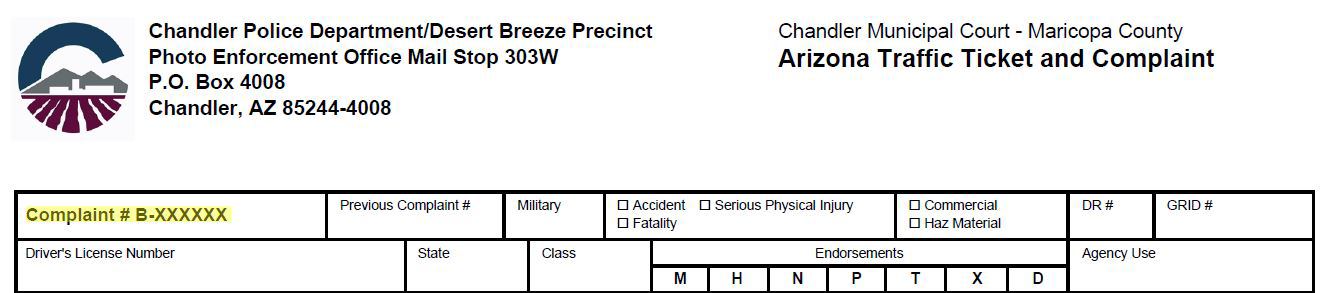 Pay Tickets Online - Chandler, Arizona, Chandler Municipal Court